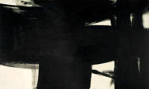 Resultado de imagen para Gran pintura negra (1960), de Kenneth Kemble
